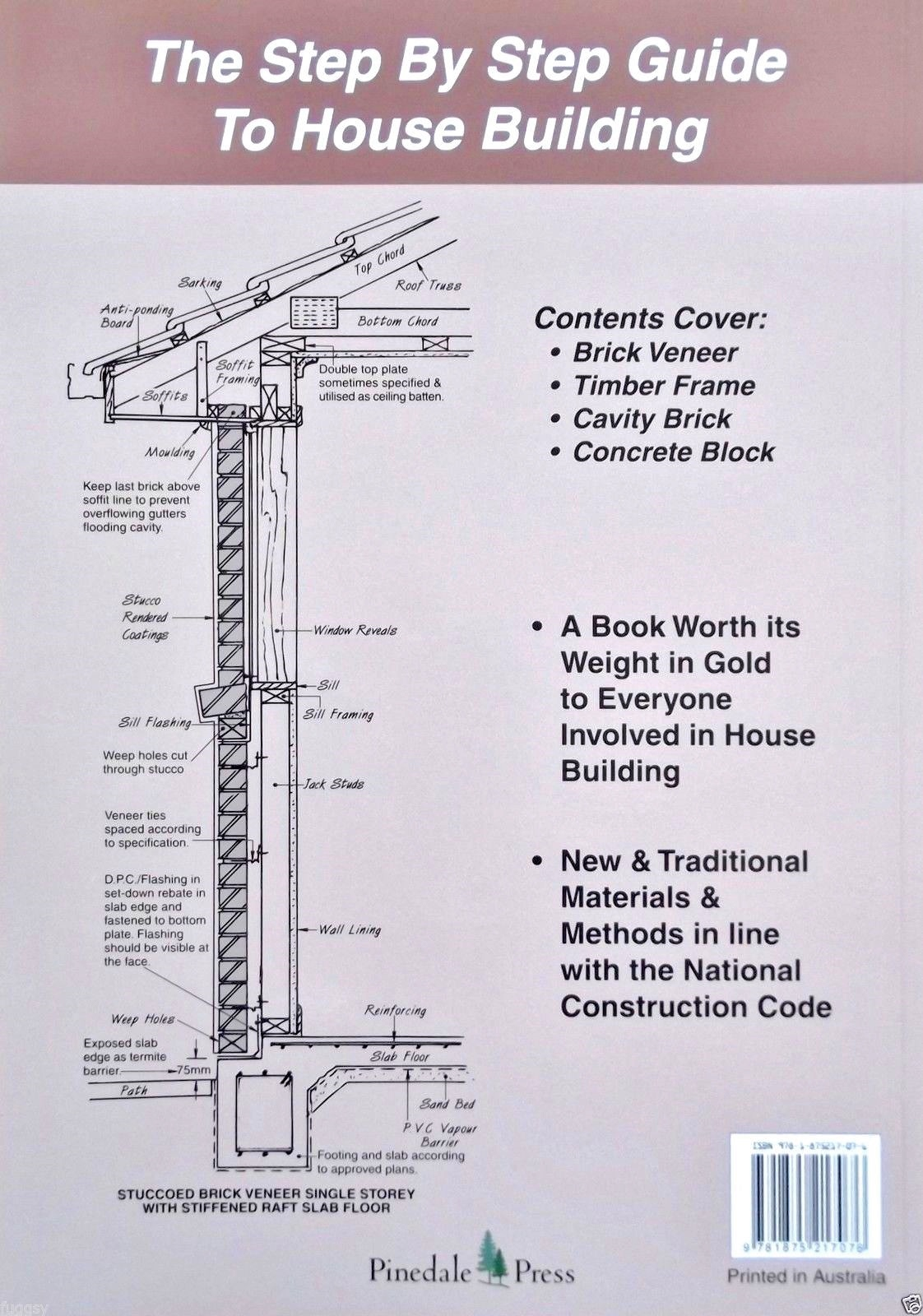Australian house building manual allan staines for How to make a house step by step