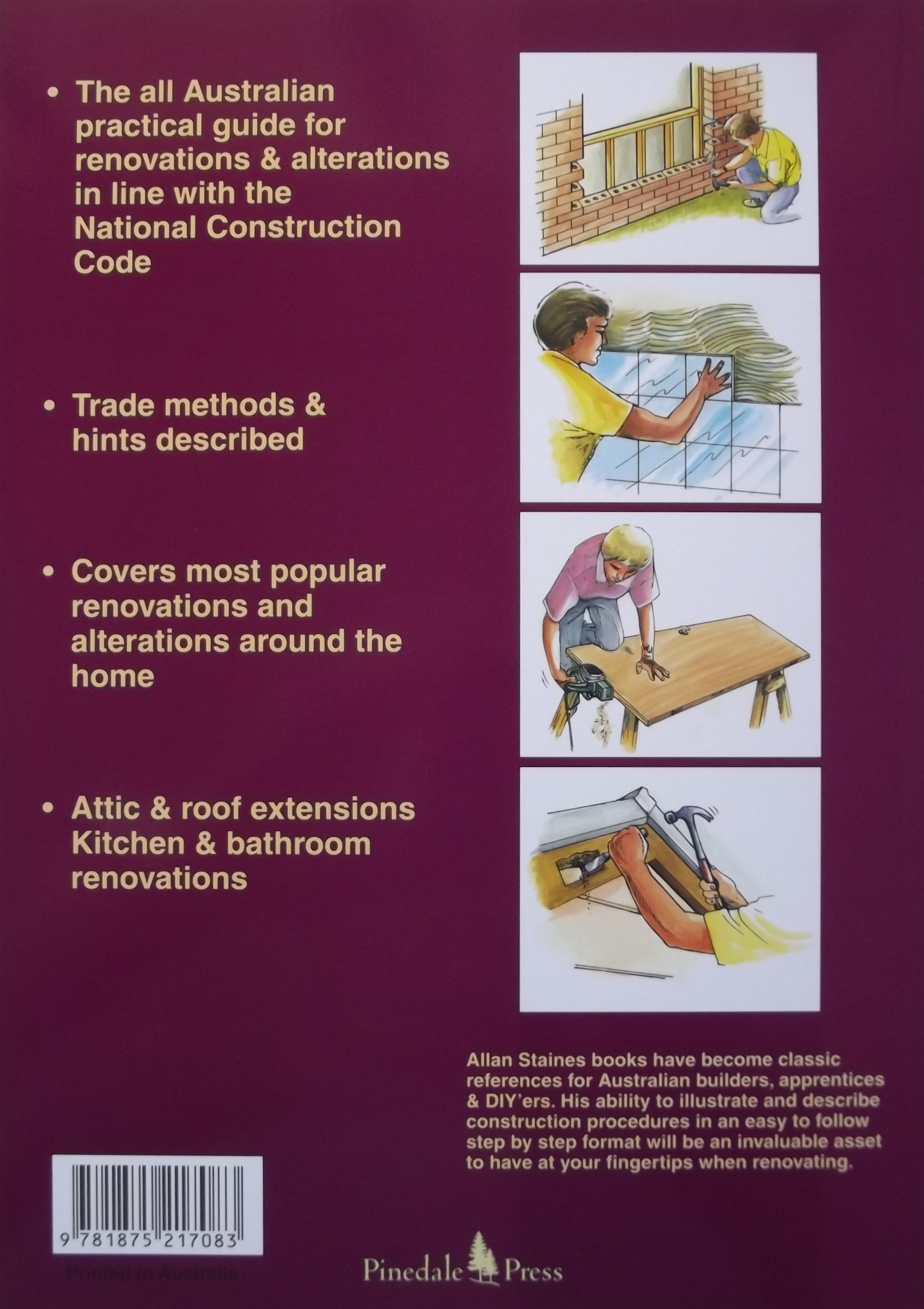The australian renovators manual allan staines solutioingenieria Gallery